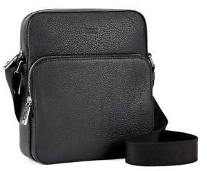 Hugo Boss Crossbody Bag Black Leather (RRP£350) - NEW & TAGS