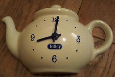 Retro Tetley Teapot Wall Clock