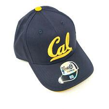 Youth California Golden Bears Adjustable Hat Cap Blue NCAA
