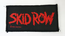 Skid Row 1990 vintage music patch Sew On heavy metal hardrock