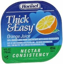 Drink Thick & Easy Orange Juice Nectar Consistency Portion Control Cups 24 Case