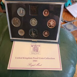 A UK 1983 Proof Coin Set