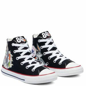 Converse x Bugs Bunny CTAS HI 169225F Black/Multi/White Sizes 9 - 9.5 NWB