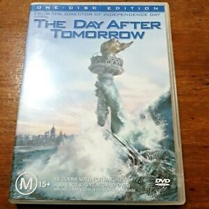 The Day After Tomorrow DVD R4 VERY GOOD – FREE POST