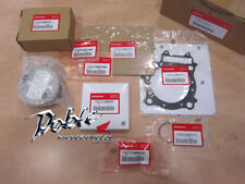 Genuine Honda OEM CRF450X  2005, 2006, 2007, 2008 Complete Piston Kit