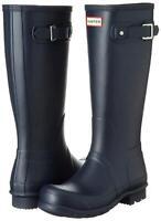 Hunter Womens Original Tall Rubber Closed Toe Knee High, Navy, Size 8.0 Q74q