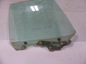 1975  LTD 4 door LEFT REAR  DOOR WINDOW GLASS OEM USED GALAXIE MARQUIS MONTEREY