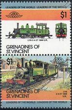 1898 Lyn No.762 2-4-2T (Lynton & Barnstaple Railway/SR) Train Stamps / LOCO 100