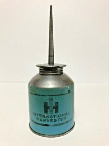 RARE INTERNATIONAL HARVESTER  IMPERIAL QUART OIL TIN CAN SIGN CANADA ADVERTISING