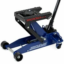 HD atv Auto truck motorcycle 4400Lb Triple Lift Hydraulic Garage Shop Floor Jack