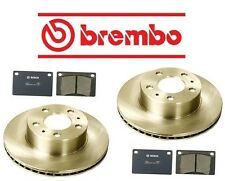 NEW Volvo 244 1975-1989 Front Disc Brake Rotors & Pads Brembo / Bosch