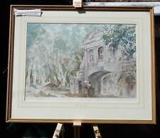 The Temple Bar - limited edition print, framed & signed by Francis Russell Flint