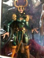 """Marvel Legends 6"""" Lady Loki A-Force Box SDCC Thor Villain Asgard God Trickery"""