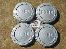 1961-65 FORD 1/2 TON F100 PICKUP TRUCK PAINTED DOG DISH HUBCAPS, SET OF 4