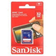 SanDisk SD 32GB SDHC Karte - (SDSDB-032G-B35)