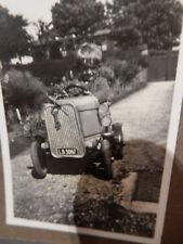 VINTAGE PHOTO   PEDAL CAR GO CART  & OTHERS at  PORT ERIN 1929 50X 80mm
