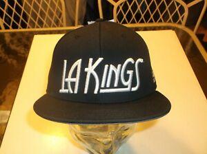 Los Angeles Kings Adidas NHL Team apparel Flat Brim Snapback hat