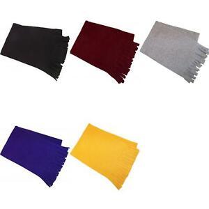 New Threads Co USA Made Fringed Fleece Scarf. 2001