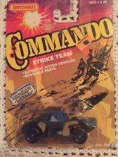1988 MATCHBOX Commando STRIKE TEAM Mission WEASEL TANK -NICE!