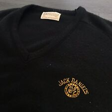 Vintage Jack Daniel's Tennessee Whiskey Sweatshirt Sweater Vest Men's M USA