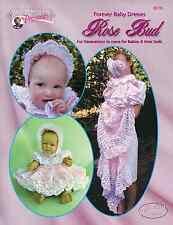 "Crochet Baby dress pattern ""Rose Bud"" Annie Potter"