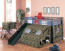 BRAND NEW COASTER 7470 CAMOUFLAGE TWIN BED YOUTH KIDS BUNKBED LOFT BED