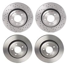 Brembo Front and Rear Coated Brake Disc Rotors Kit for BMW E46 330Ci 330i 330xi