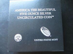2020-P ATB Samoa Bat Burnished/Uncirculated 5oz silver coin in OGP w/ COA