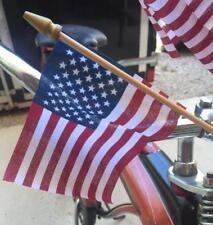 NOS Vintage Bicycle Bike US USA Flag Handlebar Display
