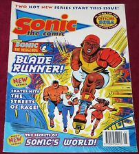 1994 SONIC THE COMIC ISSUE 25 STREETS OF RAGE FIRST FULL APPEARANCE METAL SEGAAA