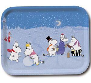 Moomin Tray Winter Games 27 x 20 cm Optodesign