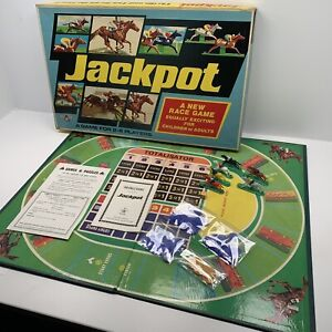 Jackpot Vintage Horse Racing Game A New Race Game Gambling Betting Complete