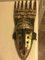 42 Year Old Hand Carved African Mask (proof of provenance)