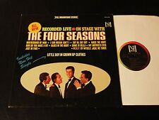 On Stage With The Four Seasons-ORIGINAL 1965 Vee-Jay STEREO LP-CLEAN!