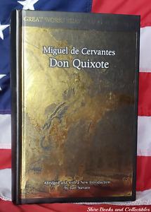 NEW Don Quixote by Miguel de Cervantes Hardcover Deluxe Gift Edition