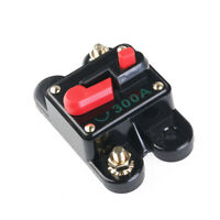 Inline Auto Waterproof Circuit Breaker Manual Reset 12V-24V Switch 300 AMP New