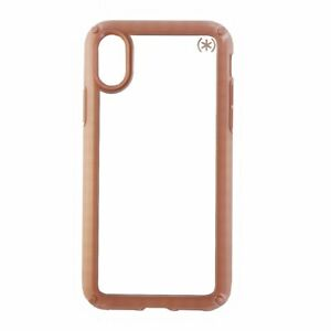 Speck Presidio Show Series Case Cover for iPhone X/ Xs - Clear/Pink Rose Gold