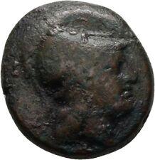 Kappen Dioskuren  Bronze Athena 20 mm/ 7,3 g Original  #LBX48