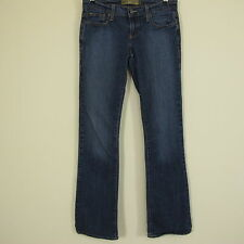 """OND Old Navy Denim Size 4 X Long Inseam 32.5"""" Ultra Low Bootcut Stretch Jeans"""