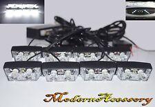12V 16 LED Emergency Vehicle Strobe Flasher Deck Dash Grille Light bars White N