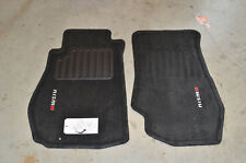 NEW Genuine OEM Nissan NISMO Carpeted Floor Mats - Black  74902-RNZ30