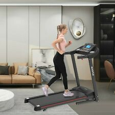 Folding Electric Motorized Treadmill Running Machine Incline Air Spring MP3 US