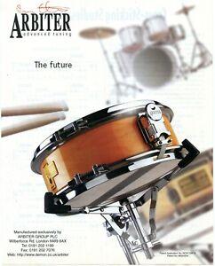 1998 Print Ad of Arbiter Advanced Tuning Snare Drum
