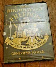 Birthdays of Freedom Book Two Genevieve Foster 1957 HCDJ Rome to July 4,1776