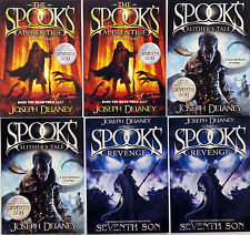 6 SPOOKS JOSEPH DELANEY POSTCARDS - REVENGE -  SLITHERS TALE - THE APPRENTICE