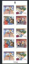 Sweden 2002 Christmas/Film/Animation/Cinema/Greetings 10v bklt (n32543)