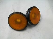 Mazda MX5 MK1 2 & 3 Side Indicator Repeater Amber Wing Lenses (pair)