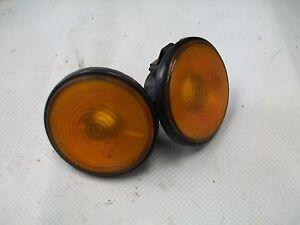 Mazda MX5 MK1 2 & 3 Side Indicator Repeater Amber Wing Lenses (pair)