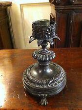 ITALIAN BAROQUE STYLE BRONZE CANDLESTICK LAMP