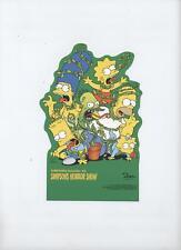 SIMPSONS-AUFSTELLER # 2 - SIMPONS HORROR SHOW - DINO VERLAG 1995 - TOP